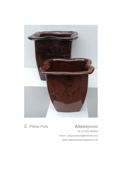 Alison Jones Pillow Pots