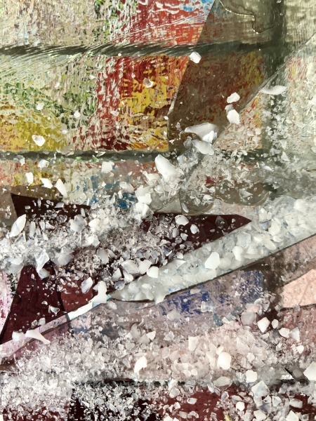 Glass-shards