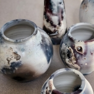 Group of vessels by Jon Crute
