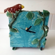 Clock, kids pottery classes